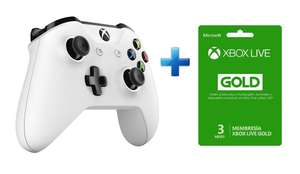Best Buy online: XBOX ONE CONTROL WHITE + MEMBRESÍA XBOX LIVE GOLD POR 3 MESES- BLANCO