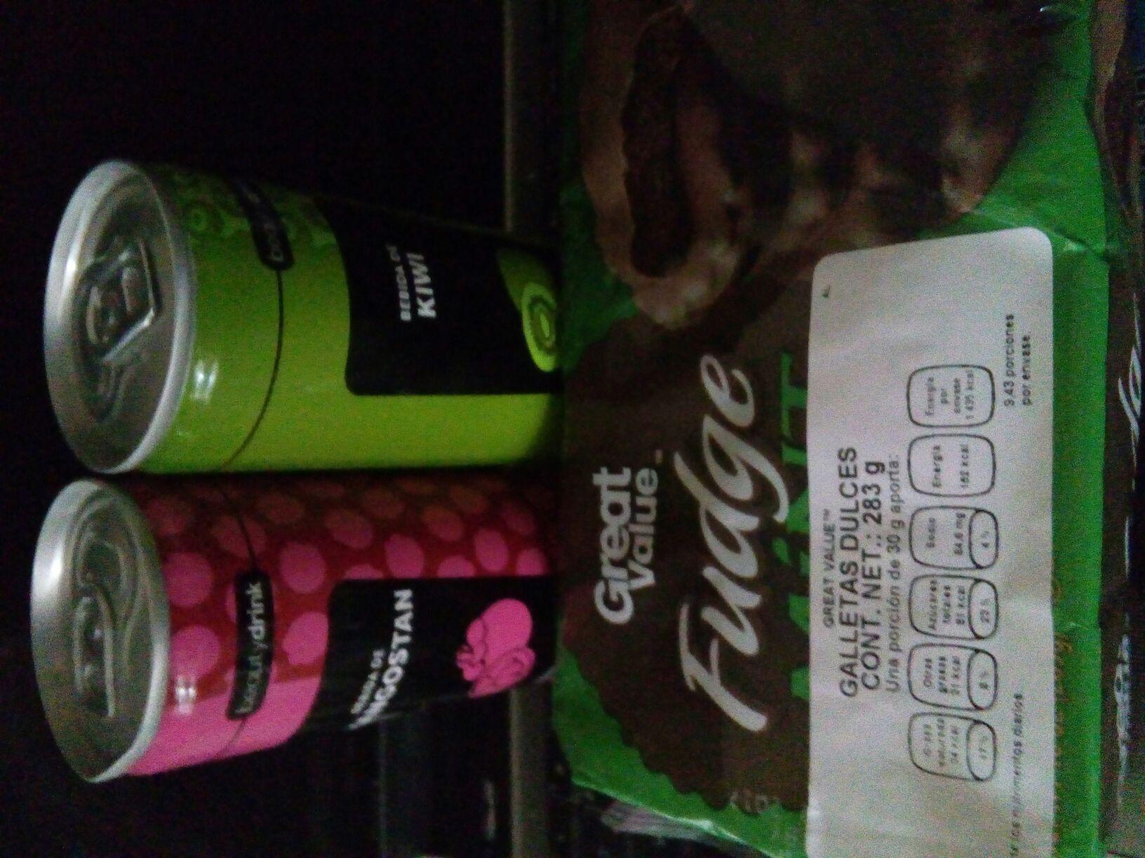 Walmart CDMX bebidas Beauty Drink 3.01 y galletas 13.01