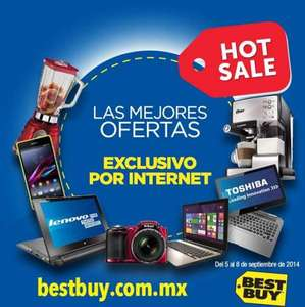 Ofertas de Hot Sale México 2014 en Best Buy