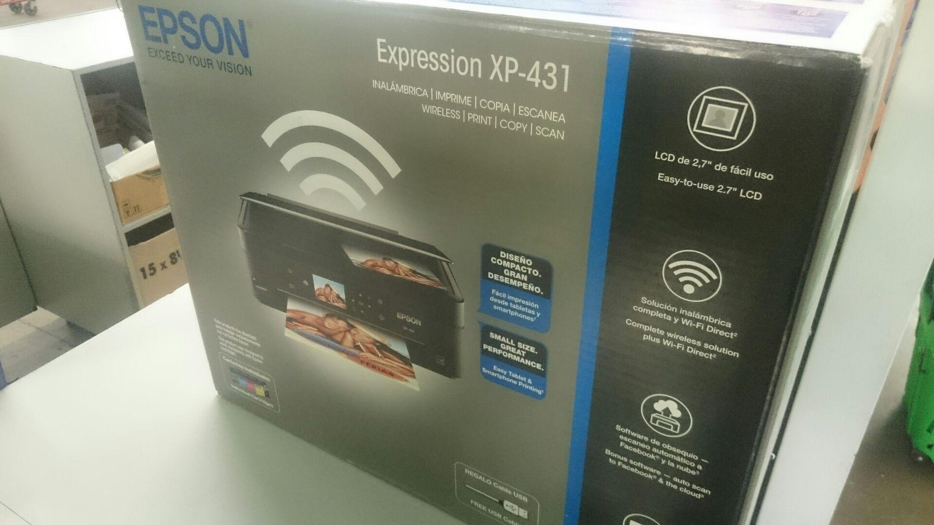 Bodega Aurrerá: impresora multifuncional Epson XP-431 a $198.03 (MI PRIMER PROMONOVELA)