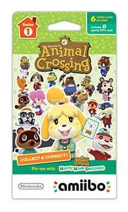 Hot Sale 2017 en Amazon: Animal Crossing Amiibo Cards Serie 1