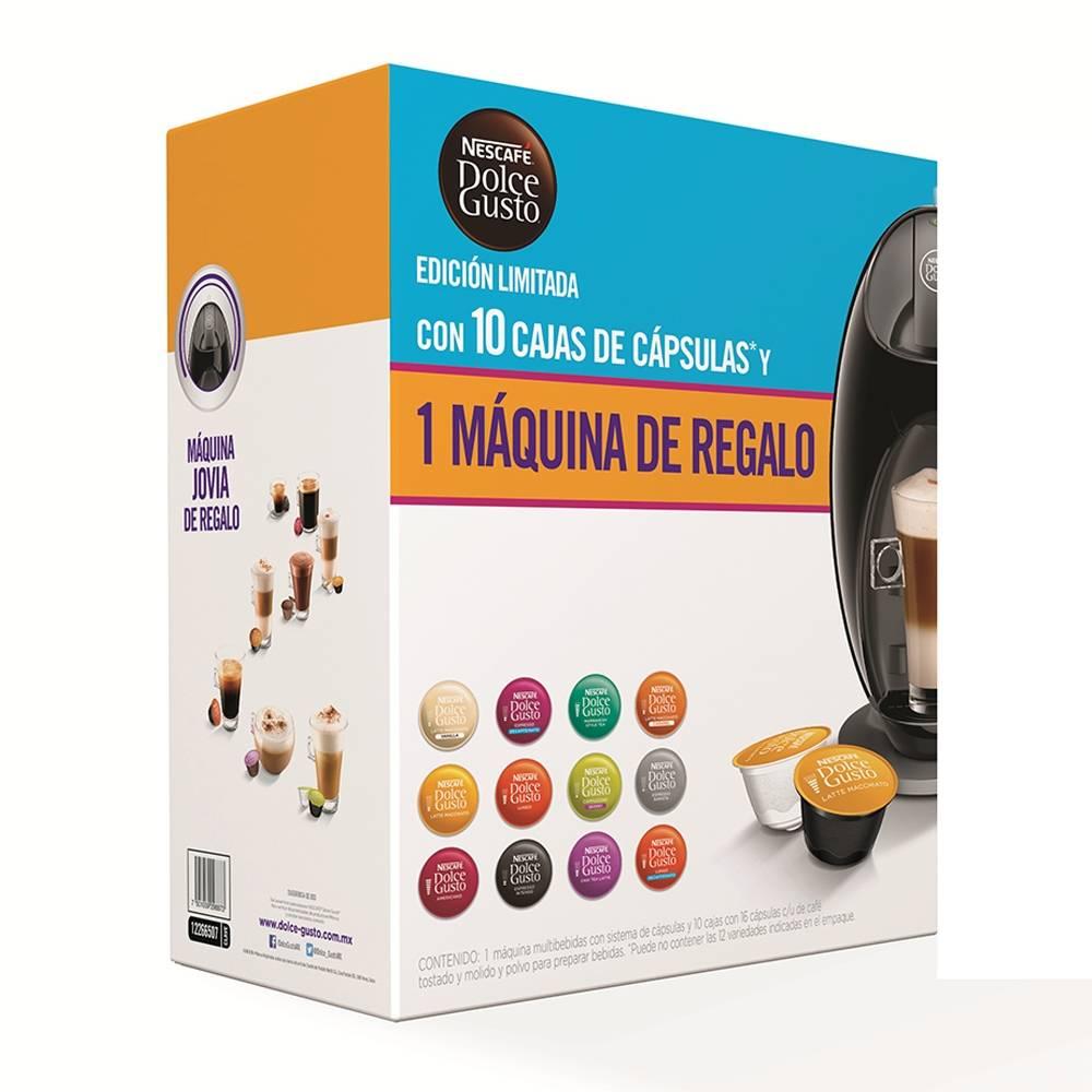 Walmart: 10 cajas de cápsulas + nuevo modelo cafetera Jovia gratis $1,090
