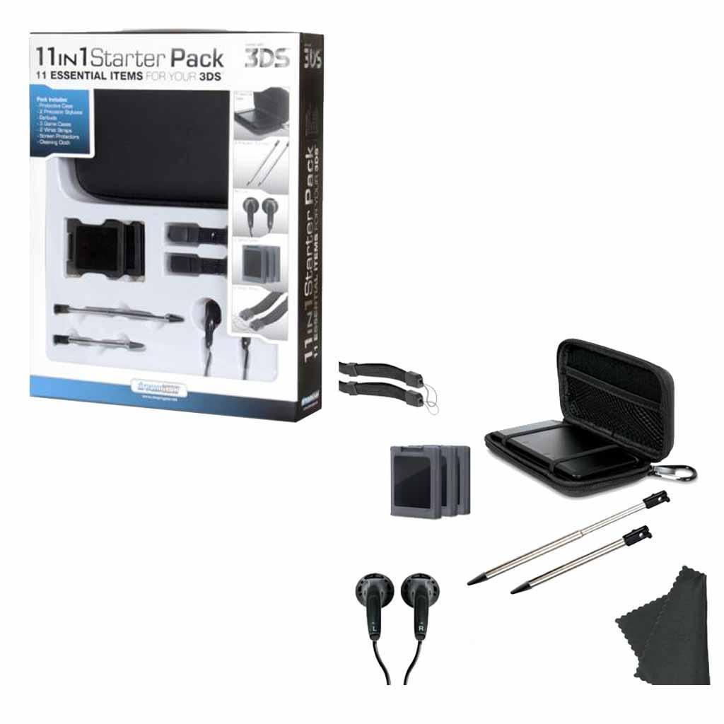 Famsa: Kit de Inicio Dreamgear 11 en 1 para 3DS $149 (con cupón)