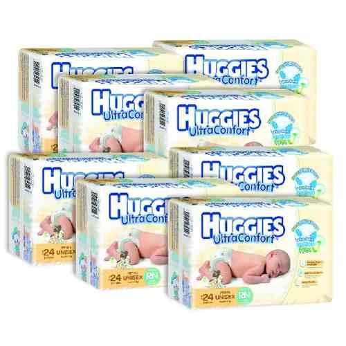 Tienda Oficial Bebe2Go en Mercado Libre: Huggies Recien Nacido 8 paquetes ENVIO GRATIS