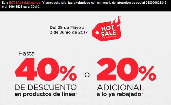 Hot Sale 2017 en Martí: Hasta 40% de descuento