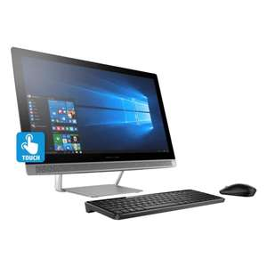 Hot Sale 2017 en Office Depot: Computadora HP ALL IN ONE 24-BO13LA + Bocina de regalo