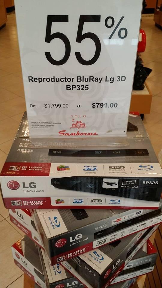 Sanborns: Blu-ray 3-D Smart LG 791