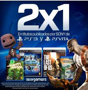 Gamers: 2x1 en juegos de Sony (The Last of US, God of War, Uncharted y más)