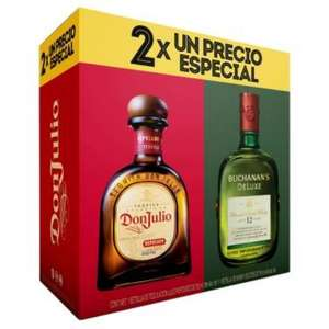 Hot Sale 2017 La Europea: DUO PACK BUCHANANS 12 + DON JULIO REPOSADO