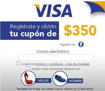 Gaudena: $350 de descuento en compras de $700 con Visa