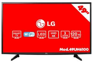 "Hot Sale 2017 HEB: Pantalla LG 49"" 4K Smart TV a $8,999 ó $8099 con Banamex a 12 MSI"