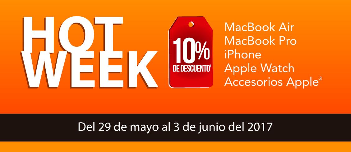 Hot Week: 10% de descuento en MacStore