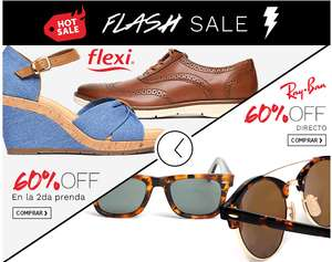 Hot Sale en Ösom Flash Sale: 60% de desceunto en Ray Ban