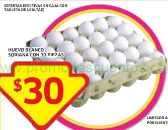 Soriana: ofertas frutas y verduras, huevo a $1 la pieza, paquete arroz $6 y más