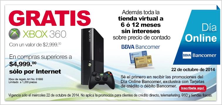 Office Depot: Xbox 360 gratis en compras de $4999 o más con Bancomer