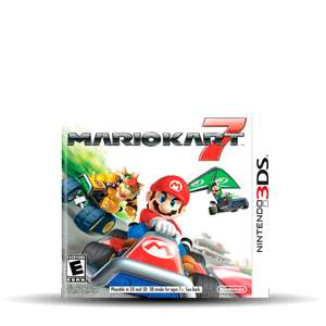 Hot Sale 2017 Gamers: Mario Kart 7 para 3DS a $503