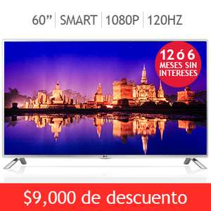 "Costco: LED Smart TV LG de 60"" a $13,999 y 12 meses sin intereses"