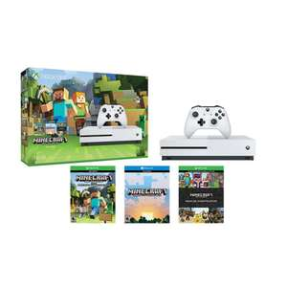 Hot Sale 2017 en Sam's Club: Consola Xbox One S 500GB + Minecraft $4999 ($4042 con TC Inbursa)