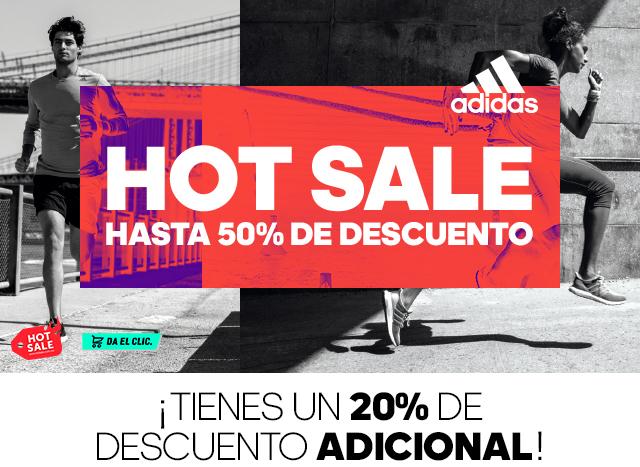 Hot Sale 2017 Adidas: Cupon de 20% adicional en tu compra SALE20