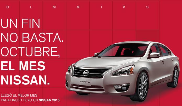 Ofertas del Pre Buen Fin 2014 en Nissan