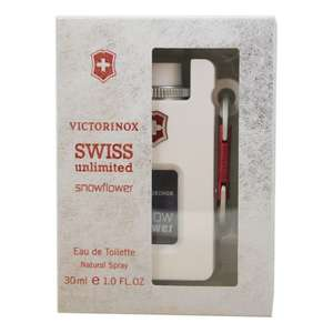 Hot Sale 2017 Walmart: Perfume Victorinox Swiss Unlimited Snowflower Dama Eau de Toilette 30 ml