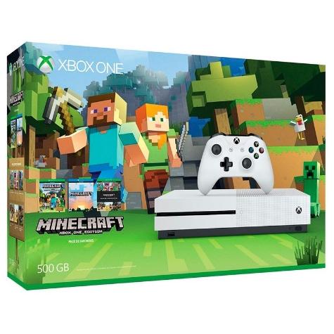 Hot Sale 2017 en Elektra: consola Xbox One S 500 GB + Minecraft a $3,869 con Banamex + cupón