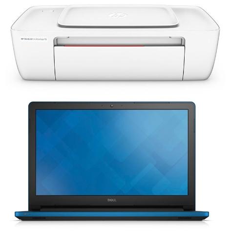 Hot Sale 2017 en Elektra: Dell Laptop Intel Core i7 1 TB DD 8 GB RAM + HP DeskJet $9,999