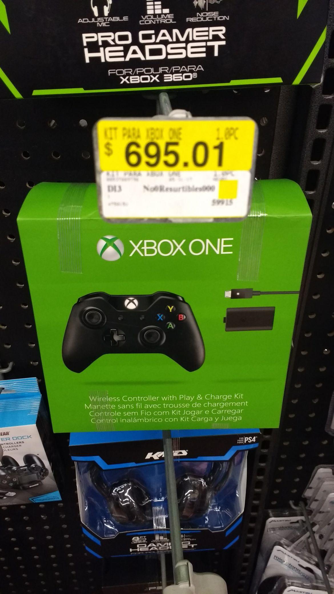 Walmart: Control Xbox One a $695.01