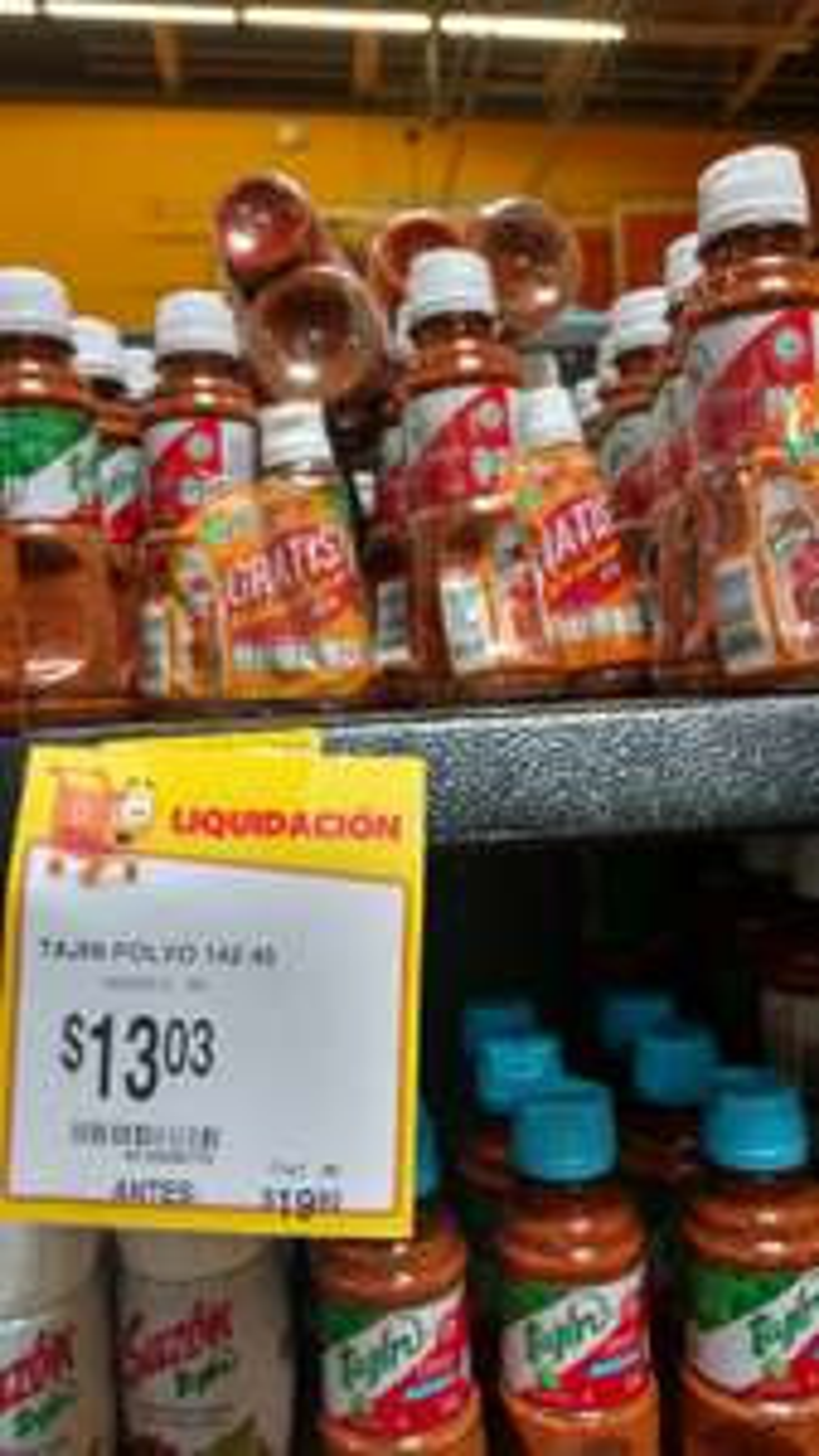 Walmart Tuxtla ote: combo Tajín a $13.03