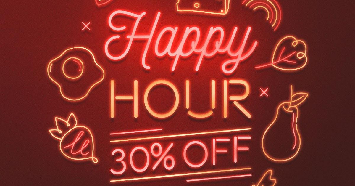Rappi: Happy Hour con 30% de descuento en sección supermercado
