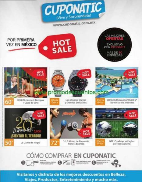 Ofertas de Hot Sale México 2014 en Cuponatic