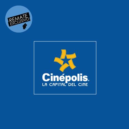 clickOnero: boletos para Cinépolis $36 + 30% de bonificación