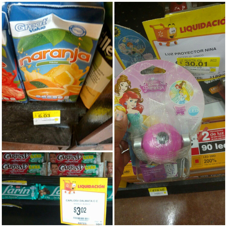 Walmart Tuxtla Ote: Néctar GV naranja $6.03 y más...