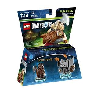Amazon MX: Lego Dimensions Pack Gimli The Lord of Rings