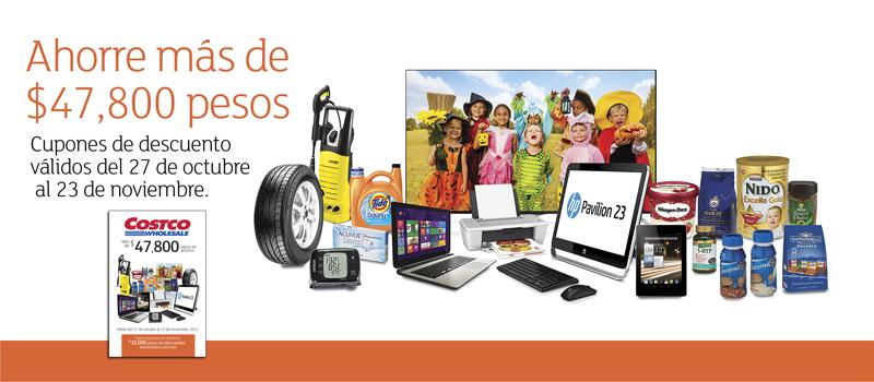 Folleto de ofertas en Costco del 27 de octubre al 23 de noviembre