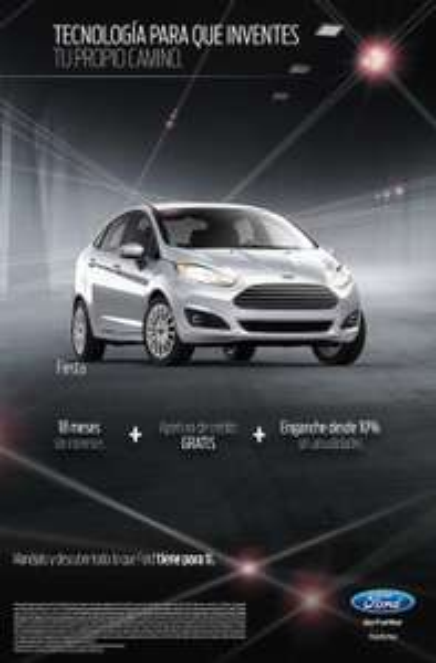 Autos Ford : meses sin intereses y apertura gratis