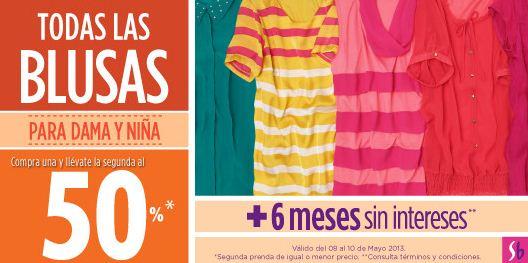 Suburbia: 2x1 y medio en blusas