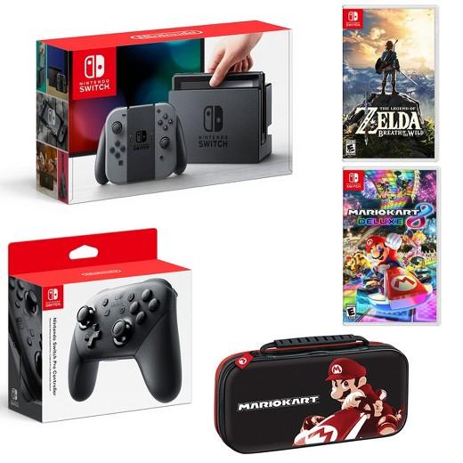 Target: Nintendo switch starter bundle