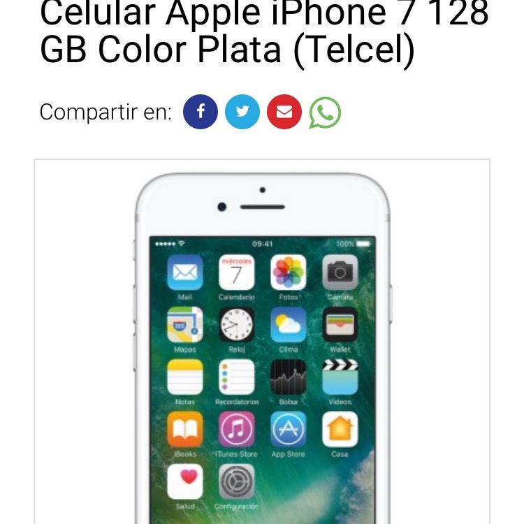 ClaroShop: Iphone 7 128 gb