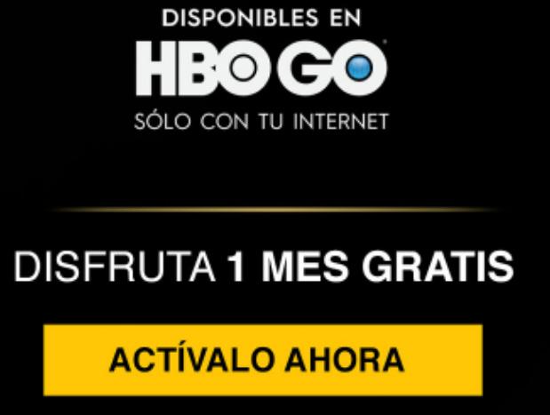HBO GO UN MES GRATIS