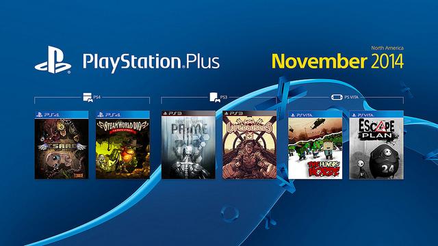 PlayStation Store: juegos gratis en noviembre para PS Plus