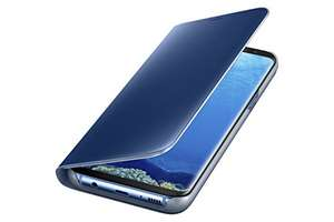 Amazon: Funda Samsung Galaxy S8 Plus Clear View Stand Cover Original Azul