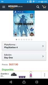 Amazon: Rise of the tomb raider PS4