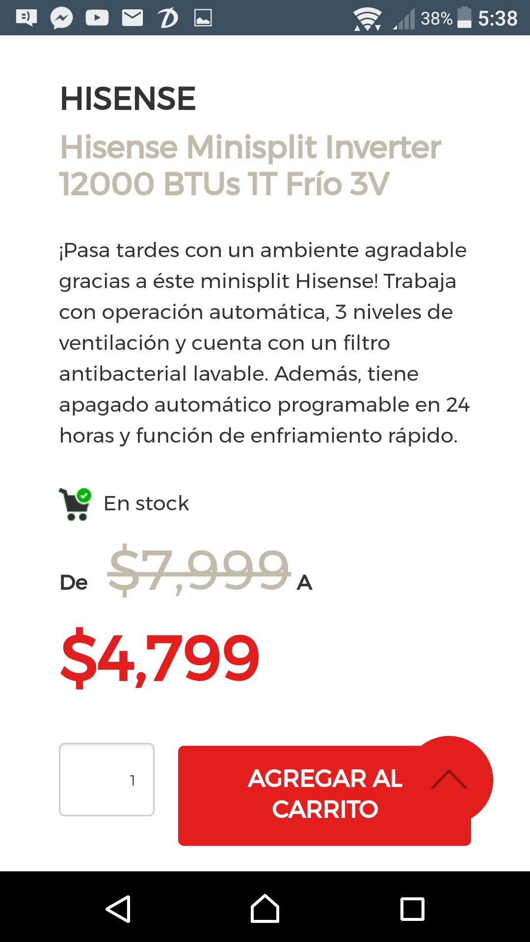 Elektra: Mini Split Inverter Hisense-minisplit-inverter-12000-btus-1t-frío-3v