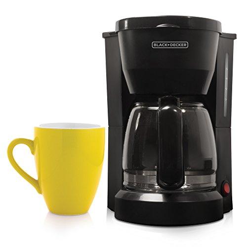 Amazon: Cafetera Black & Decker DCM600B (Negro, De café molido, Americano, Café) Con Prime