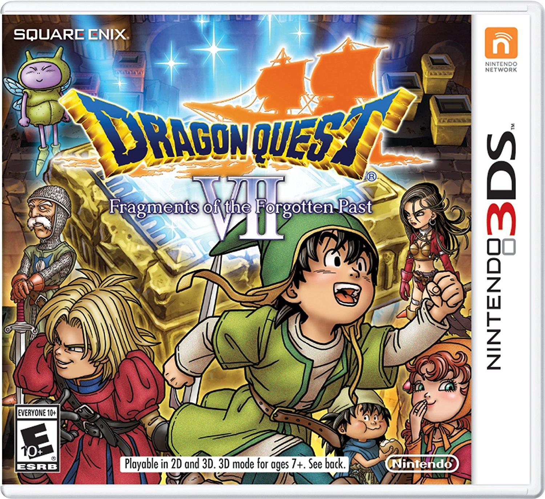 Amazon: Dragon Quest VII Fragment of Forgoten Pass para Nintendo 3DS en oferta
