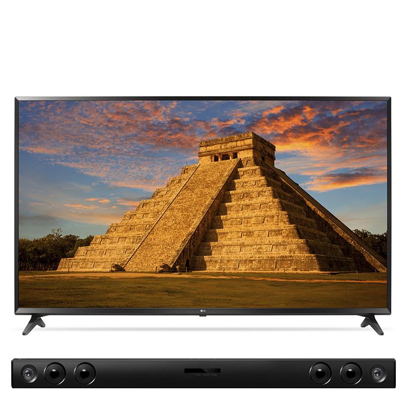Costco: LG Smart TV 4K 60 pulgadas 60UJ6300B + barra de sonido