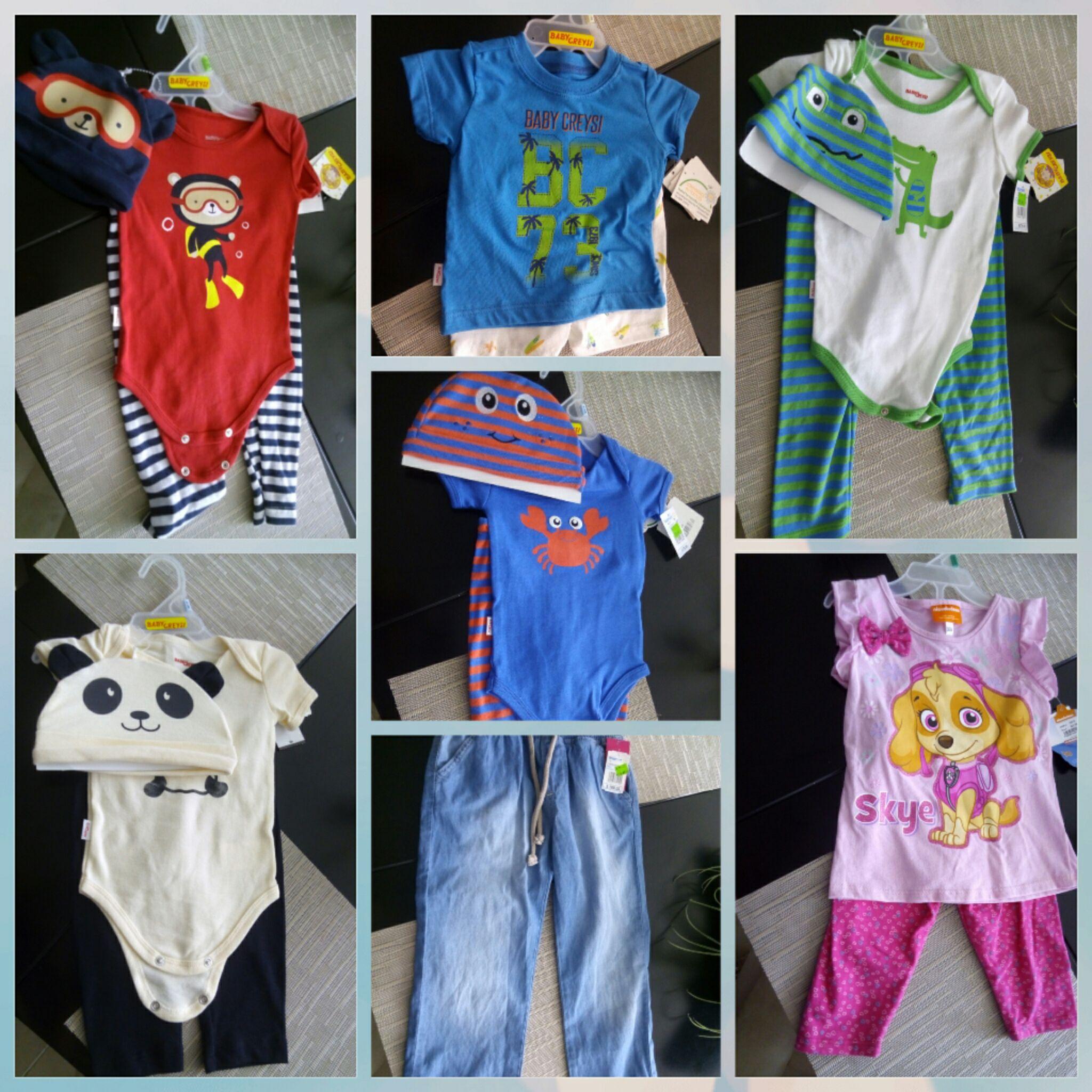 Walmart Mérida macroplaza: conjuntos para bebés y niñas a $60.02