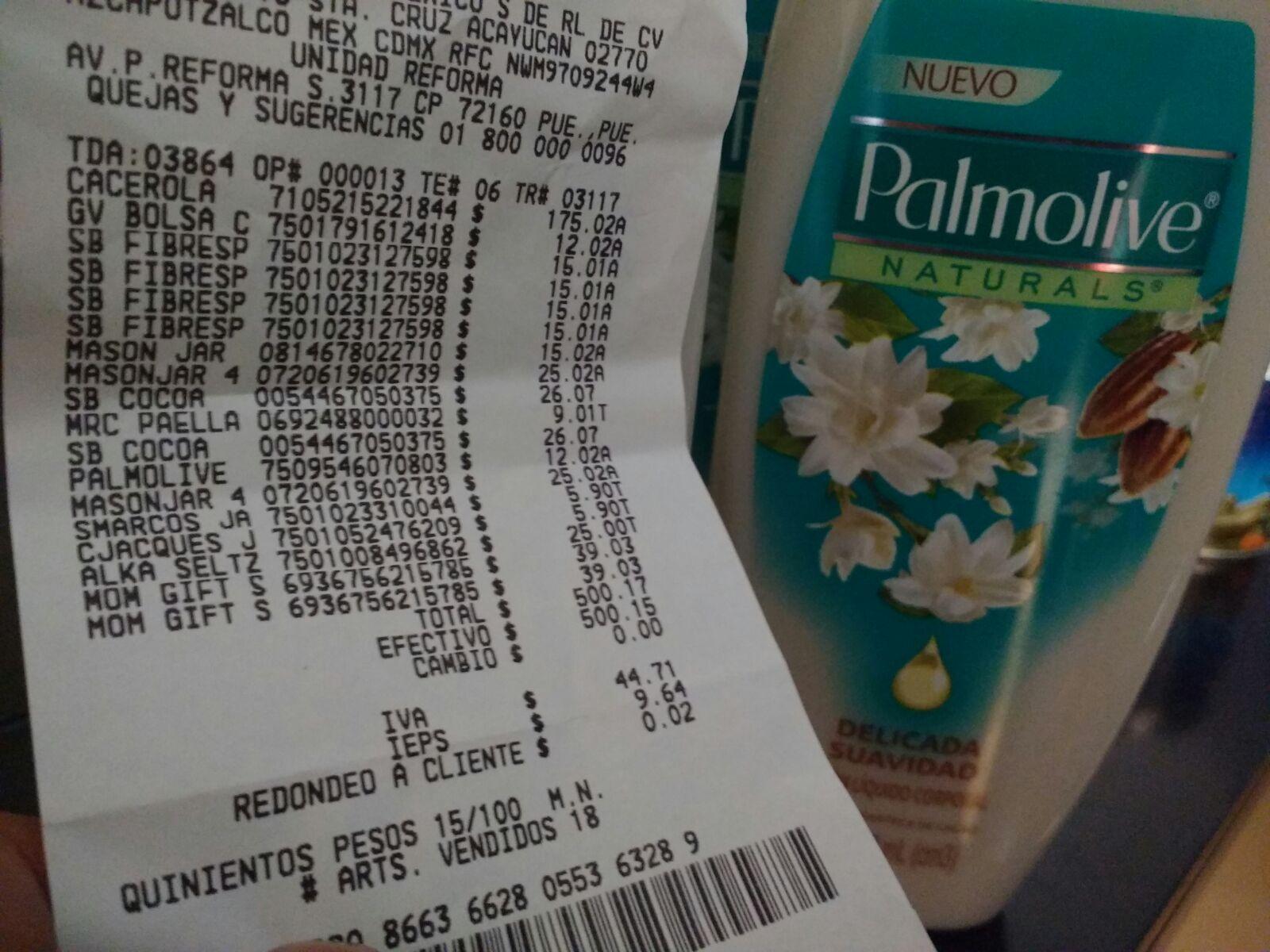 Walmart: Jabon corporal Palmolive a $12.02 y más