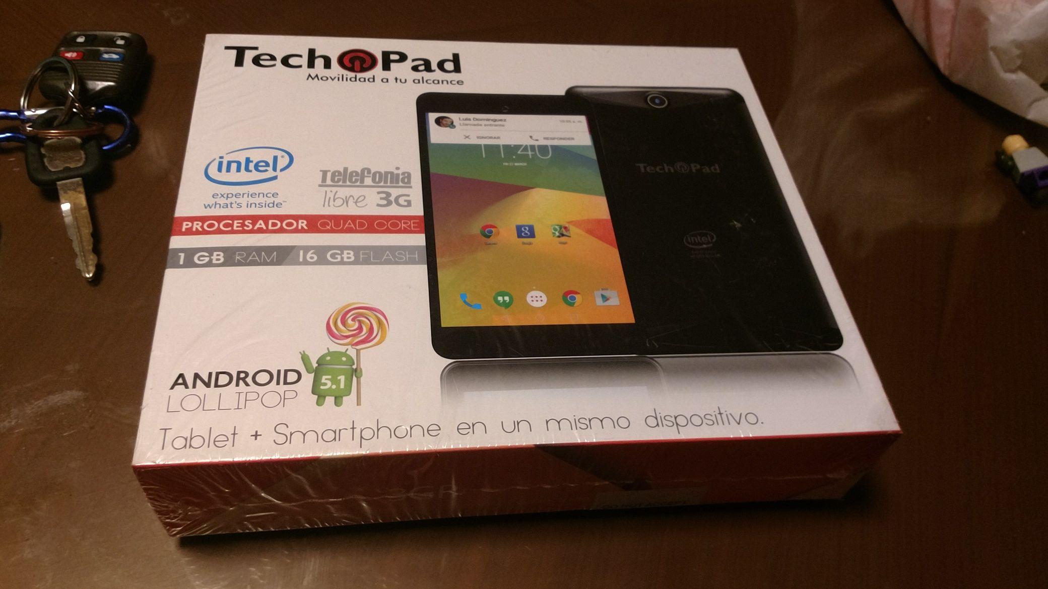 Walmart: Tech Pad tablet y celular 7 pulgadas a $745.01